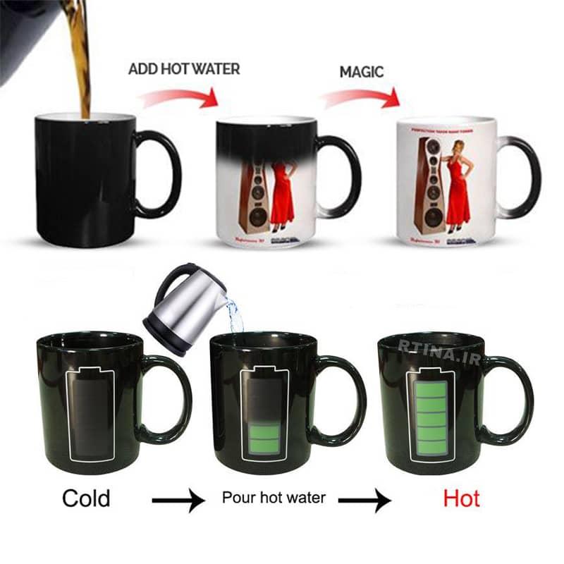 ماگ قهوه حرارتی جدید