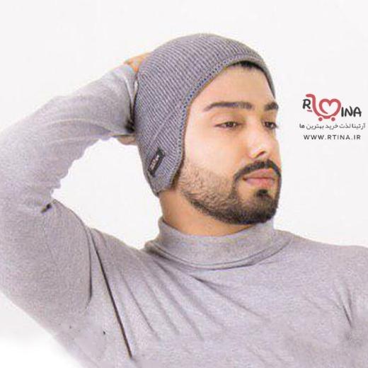 کلاه بافت گوشگیر دار مردانه جدید مدل w2