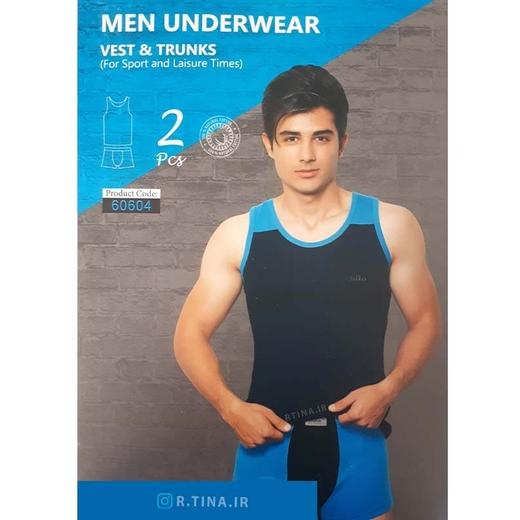 ست شورت و زیرپوش رکابی مردانه A101