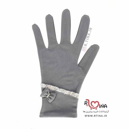 دستکش زنانه طرح دار  کد S110