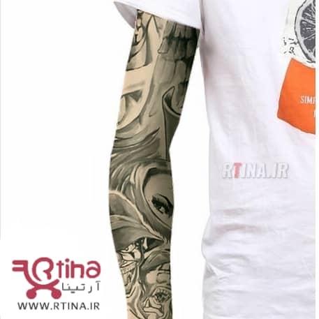 ساق دست اسپرت طرح دار خالکوبی مدل TR6