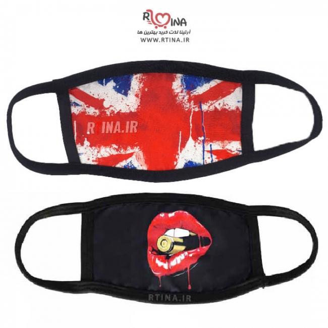 ماسک دهنی پرچم آمریکا