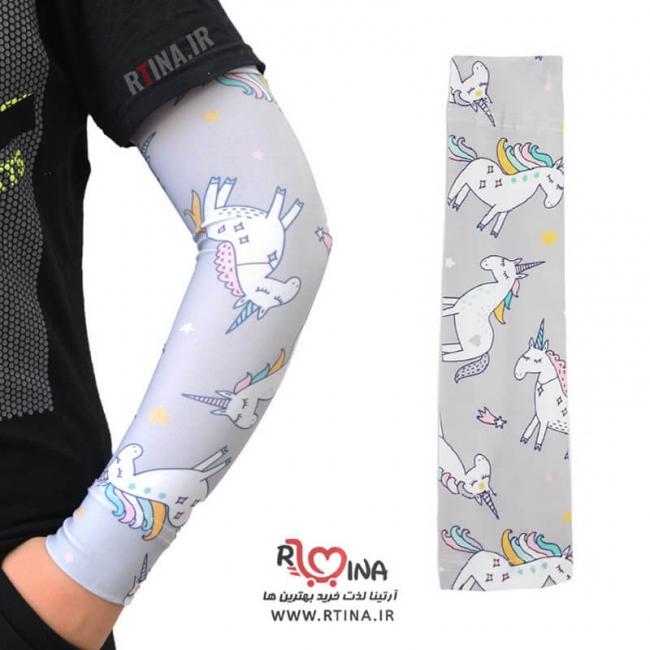 ساق دست طرح دار زنانه و دخترانه یونیکورن