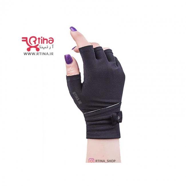 دستکش نیم انگشت پاپیونی (زنانه و دخترانه)