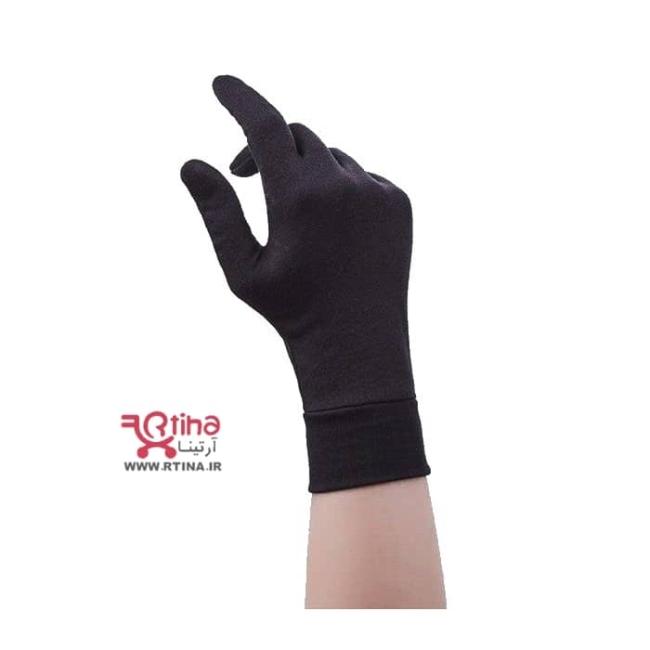 دستکش زنانه نخی ساده (مچ دار) مدل Gloves102