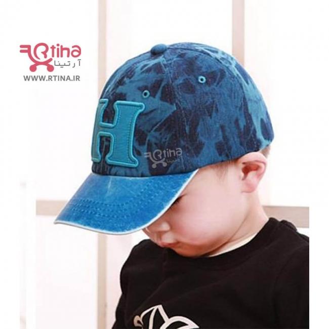 کلاه کپ فانتزی بچه گانه مدل H ابروبادی