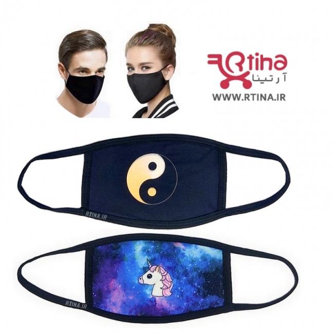 خرید آنلاین ماسک پارچه ای عروسکی دخترانه و زنانه