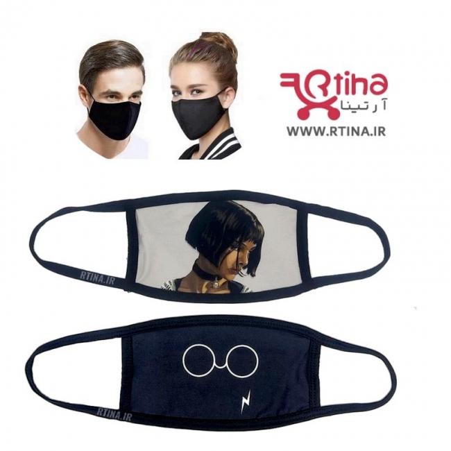 خرید جدیدترین ماسک بهداشتی مشکی با طرح های خاص