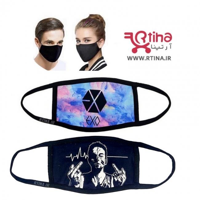 ماسک زنانه و مردانه طرح exo2