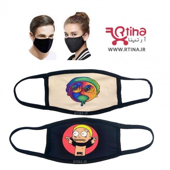 ماسک بهداشتی طرح دار مدل TY2