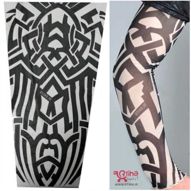 ساق دست طرح خالکوبی مدل واریور