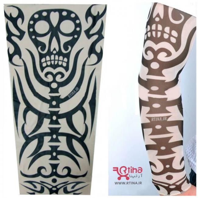 ساق دست تاتویی جدید مدل اسکلت2
