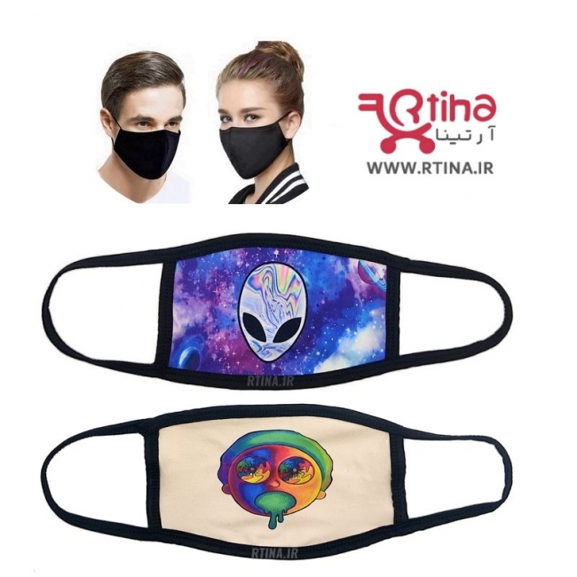 ماسک تنفسی پارچه ای مدل آدم فضایی1