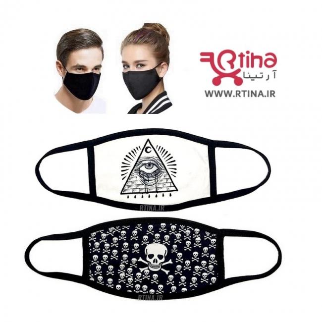 ماسک مدل جدید اسکلت دار3