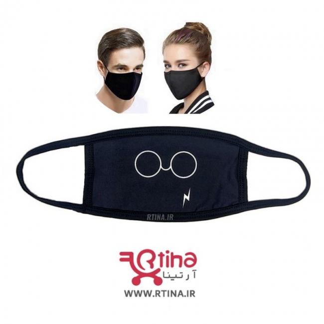 ماسک قابل شستشو مدل عینک