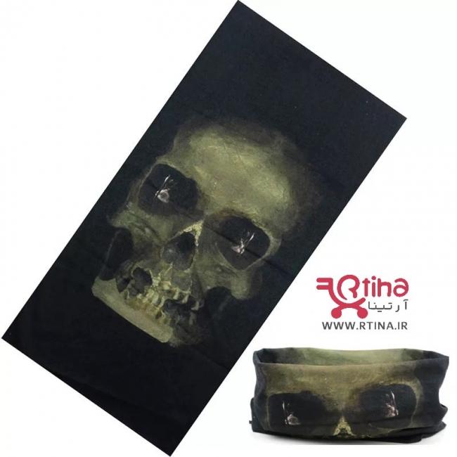 دستمال سر و گردن مدل اسکلتیH4