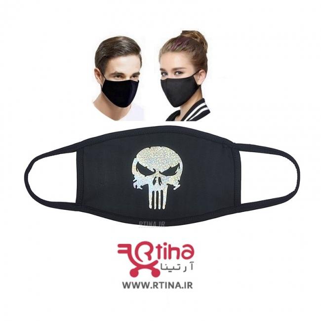 ماسک تنفسی نخی طرح Skull 2