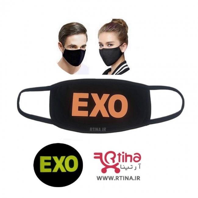 ماسک تنفسی فانتزی بلک لایت مدل exo5