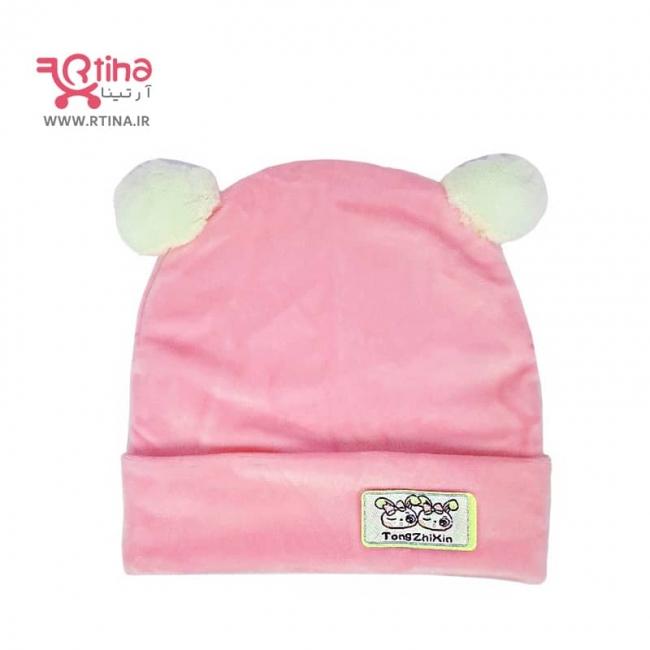 کلاه مخمل نوزادی مدل A21