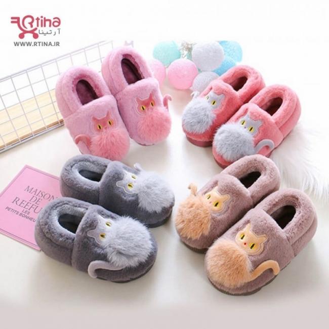 کفش نوزادی پسرانه و دخترانه مدل cute cat