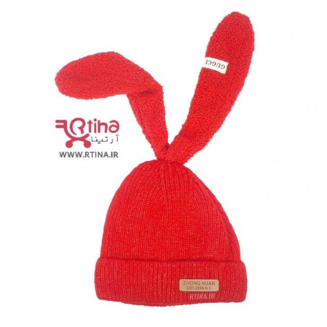 کلاه زمستانی گوش دار مدل GUGCI