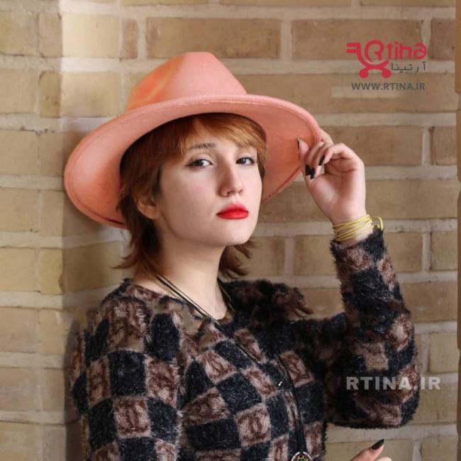 کلاه ایندیانا جونز رنگ گلبهی مدل RT-705