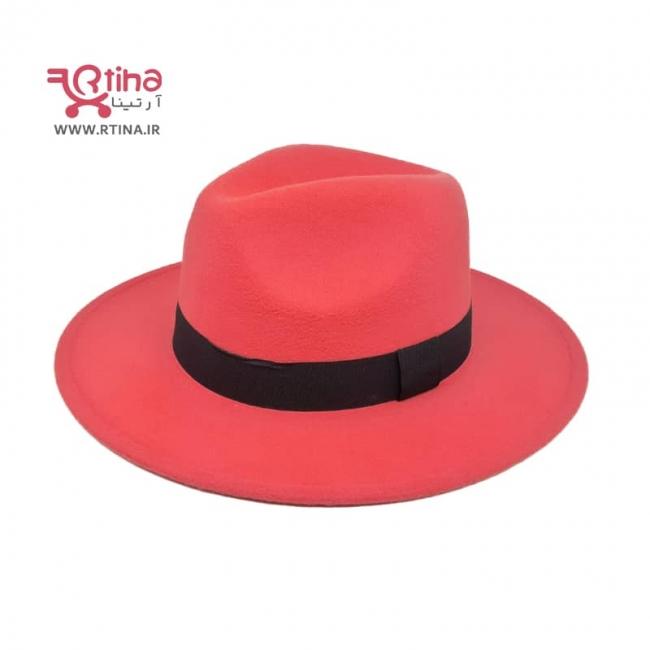 کلاه مدل گرد دخترانه طرح ساده فدورا RT-706