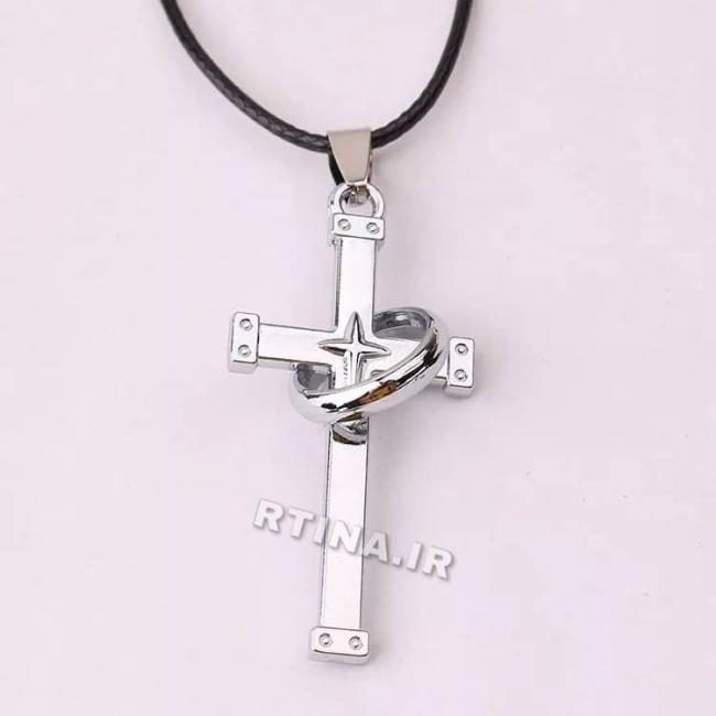 گردنبند صلیب با حلقه دخترانه/پسرانه مدل RT-Z02