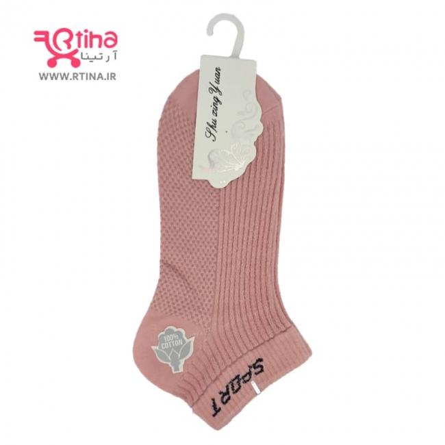 جوراب مچی گلبهی زنانه/دخترانه