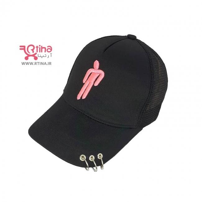 کلاه پیرسینگ دار نقابی مدل billie eilish