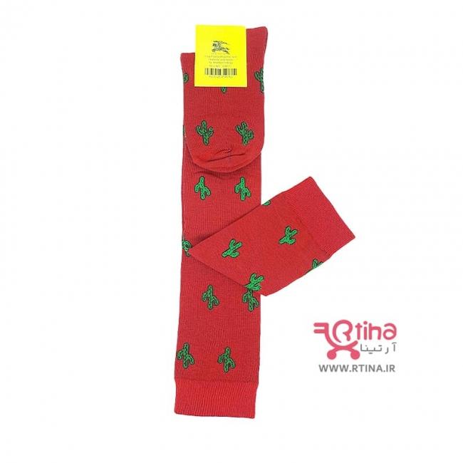 جوراب کاکتوس بلند قرمز /دخترانه و زنانه
