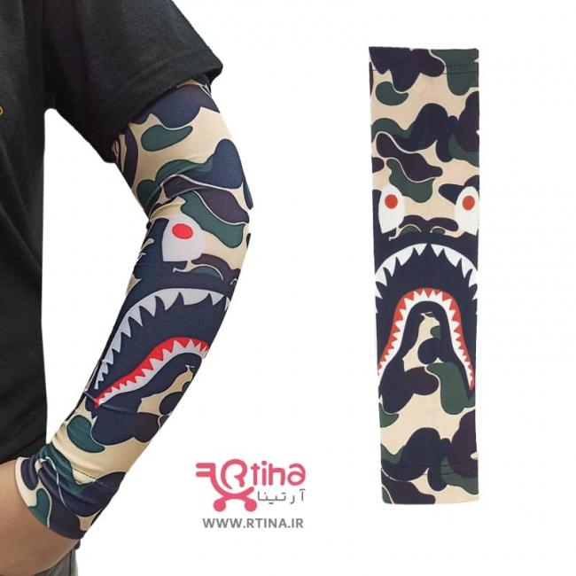 ساق دست مردانه چریکی مدل shark