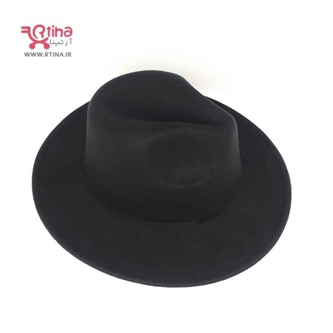 کلاه خاخامی مشکی نمدی مدل کلاسیک (زنانه و مردانه)