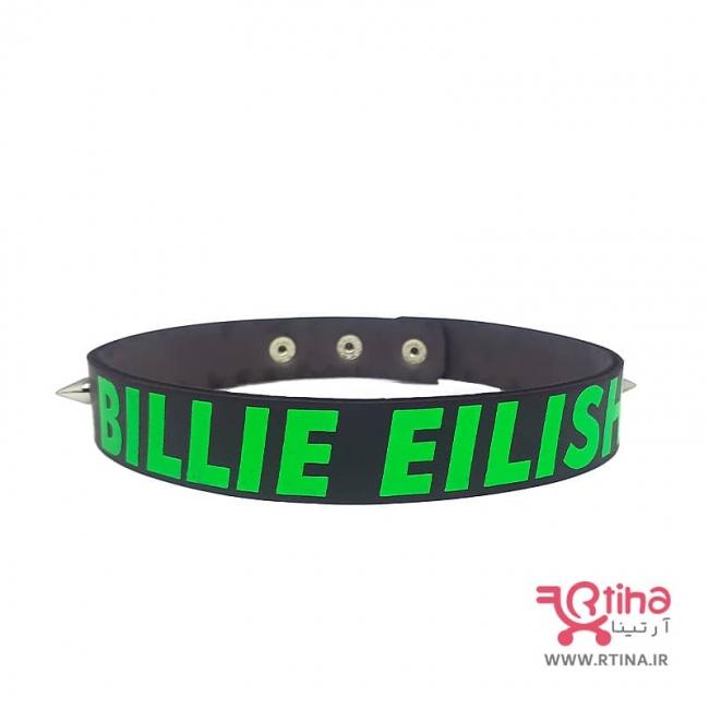 چوکر گردنبند مشکی دخترانه مدل BILLIE