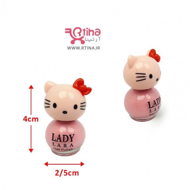 لاک ناخن دخترانه پلاستیکی/نمازی (دخترانه و زنانه)