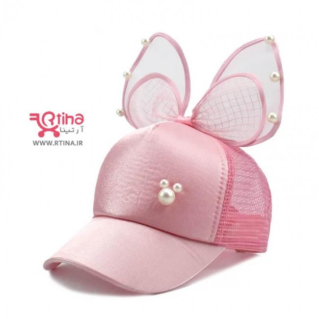 کلاه بچه گانه تابستانی جدید (کلاه خرگوشی دخترانه)
