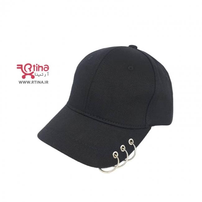 کلاه کپ دخترانه اسپرت حلقه دار (8سال به بالا)