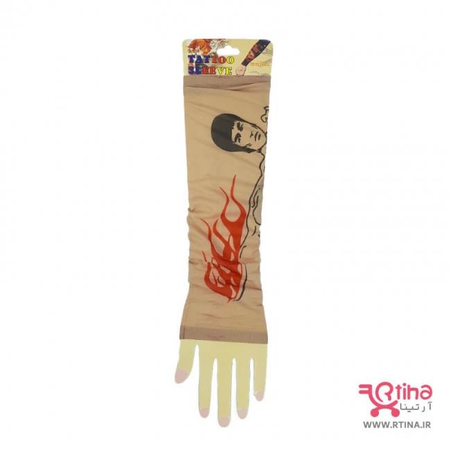 ساق دست مردانه طرح تاتو (بروسلی)