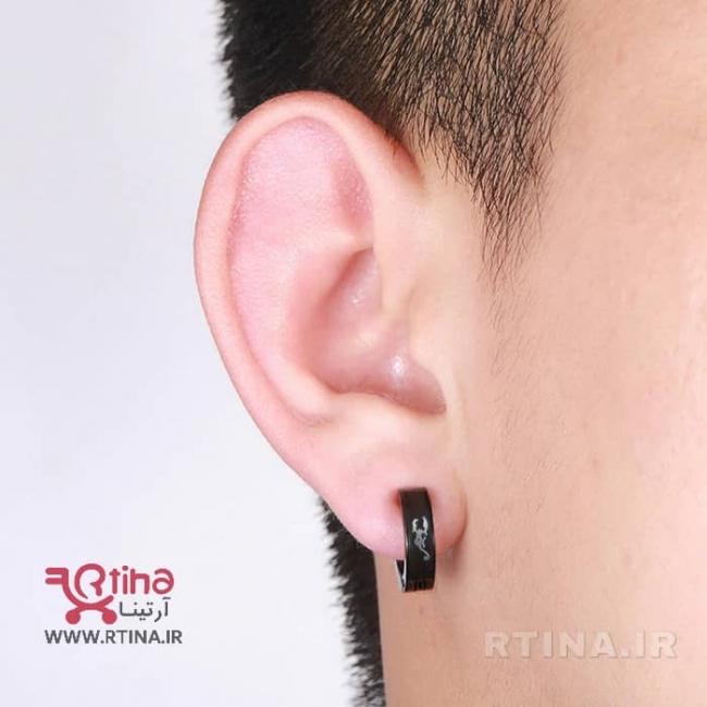 گوشواره بدون نیاز به سوراخ گوش طرح عقرب (دخترانه و پسرانه)
