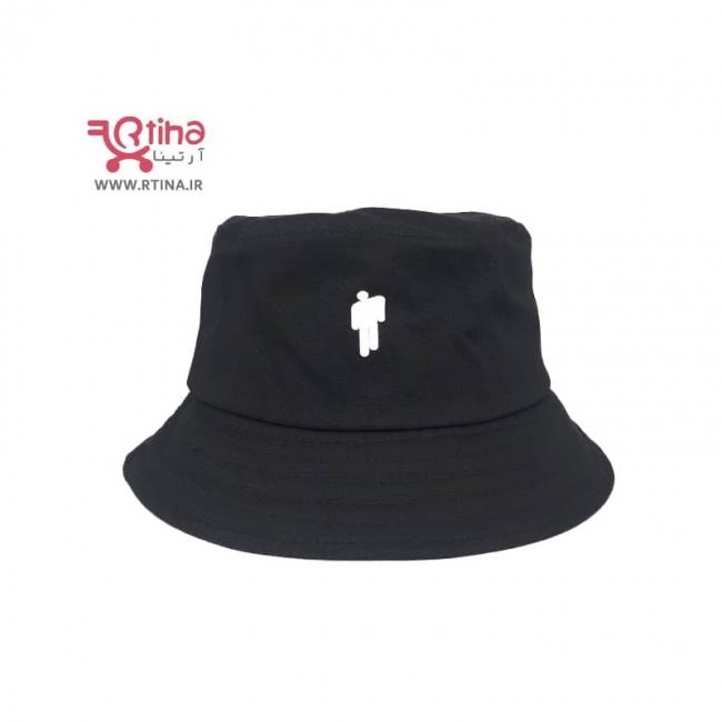 کلاه ماهیگیری (سطلی) دخترانه و پسرانه طرح billie eilish