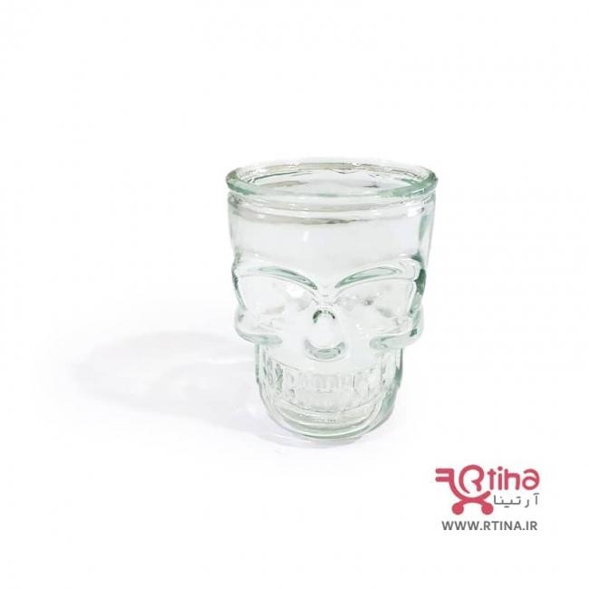 ست شات اسکلت (نیم لیوان شیشه ای اسکلتی)