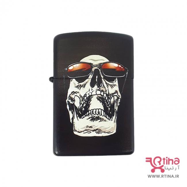 فندک سیگار کلاسیک زیپو مدل Skull