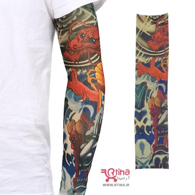 ساق دست جدید طرح دار مدل اژدها