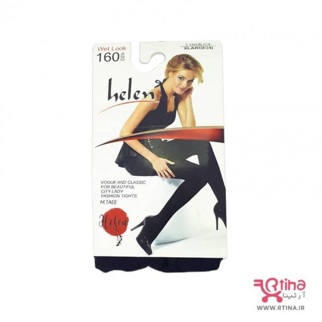 جوراب شلواری مشکی نیمه ضخیم برند هلن 160Den