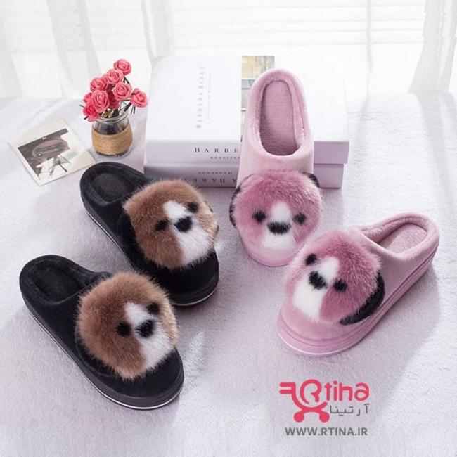 کفش روفرشی عروسکی و فانتزی دخترانه و زنانه مدل پاندا