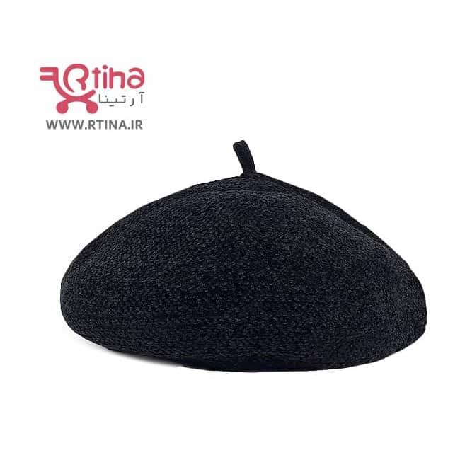 کلاه برت دخترانه و زنانه مخمل ضخیم و حالت پذیر (بدون کرک و پرز)