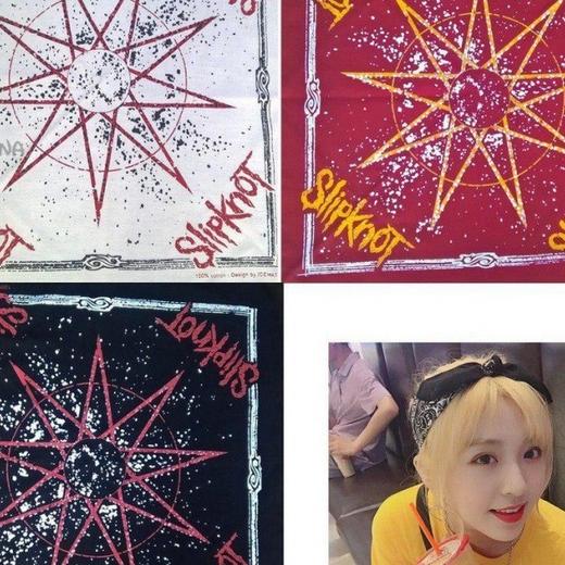باندانا طرح ستاره slipknot