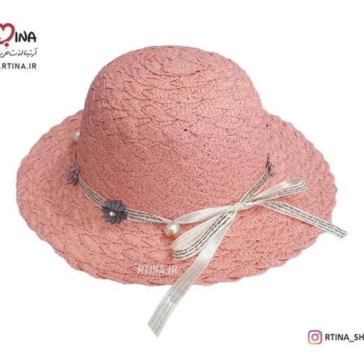 کلاه حصیری دخترانه طرح 3