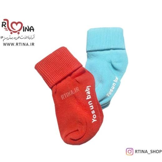 جوراب بچگانه مدل ساده اسپرت