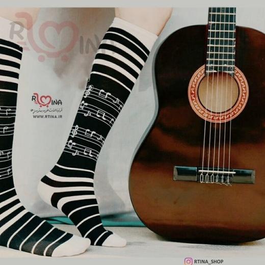 جوراب ساق بلند نت موسیقی
